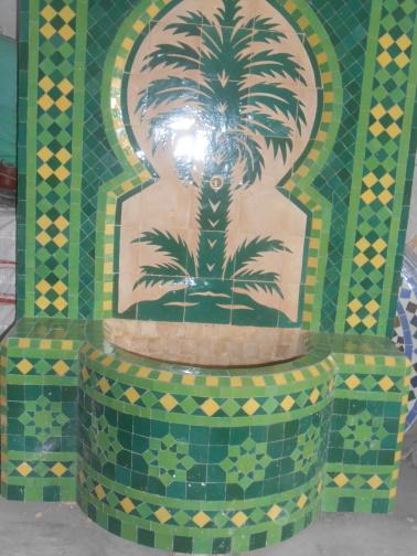 Des Artistes en nos « murs »:  Ahmed Lamghari & Mohamed Fariss  Maîtres artisans du zellige Dscn1014