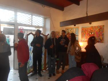 10/01 au 25/01 - Galerie 104 :  Exposition de Hayat Choufani Dscn1031