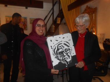 10/01 au 25/01 - Galerie 104 :  Exposition de Hayat Choufani Dscn1112