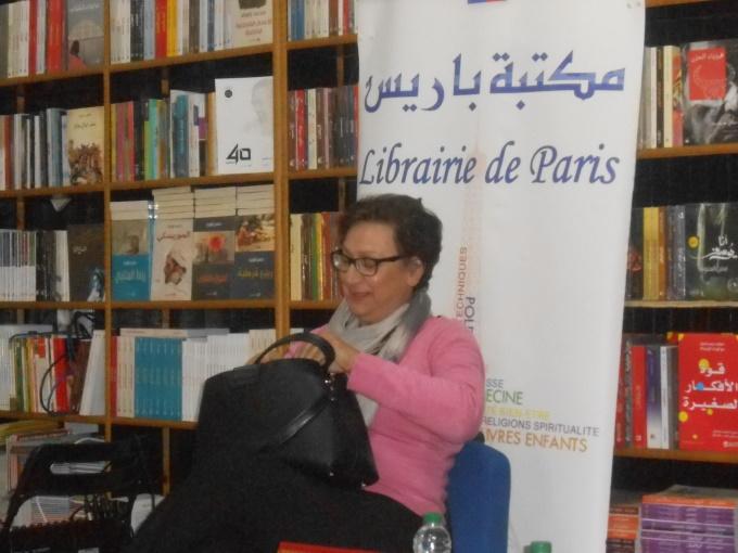 Najat Dialmy : « Une tête bien faite plutôt qu'une tête trop pleine » Dscn1113