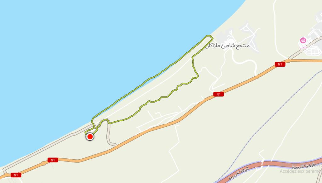 05/11 - journée de marche sportive :  20 kilomètres  au golf Pullman Golf117