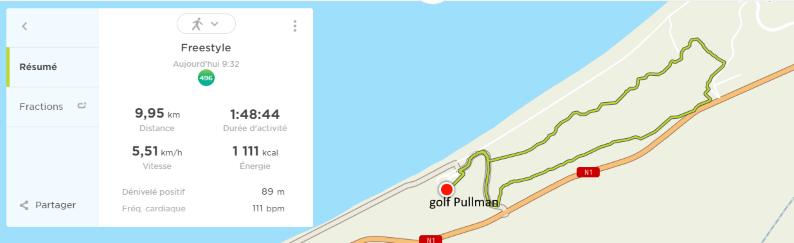 13/11 - Marche sportive au golf Golf18