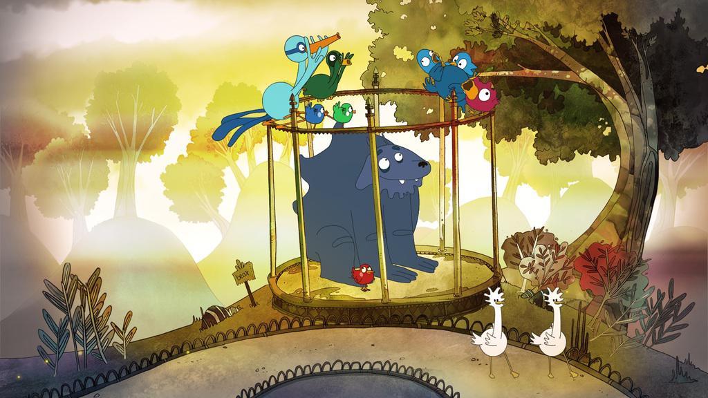 12/02 - Cinéma jeunesse  Cycle griffes, plumes, poils et moustaches La-cag10