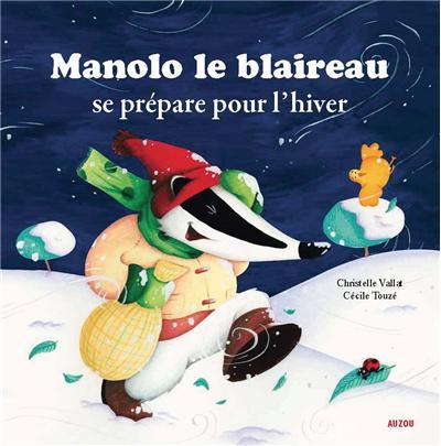 """12/12 - l'heure du conte : """"Manolo le blaireau se prépare pour l'hiver"""" Manolo10"""