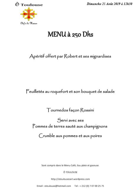 Ô !... Toulouse ! Les menus de la semaine Menu_211
