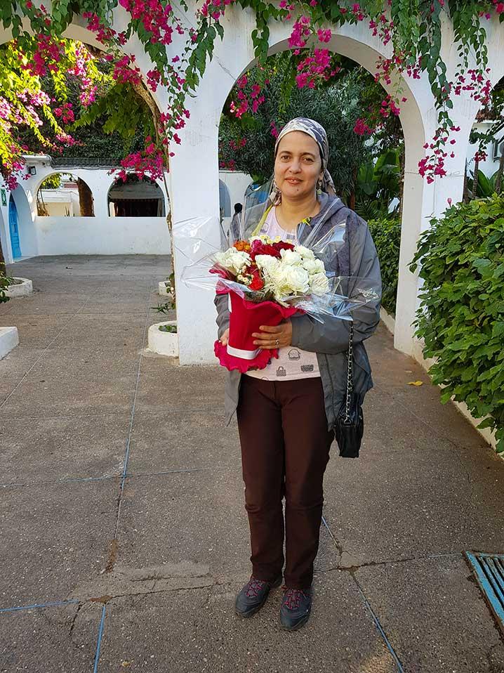 Un Anniversaire, des Fleurs et des Mémoires. Naf21010
