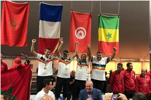 BREVES - Pétanque : la France championne du Monde devant le Maroc Pzotan10