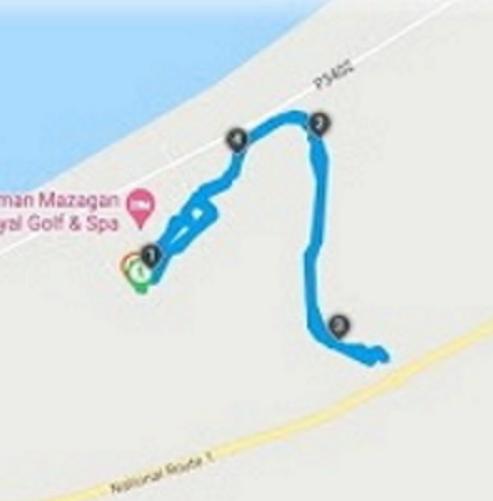 04/05 - marche sportive au golf Pullman Sans1078