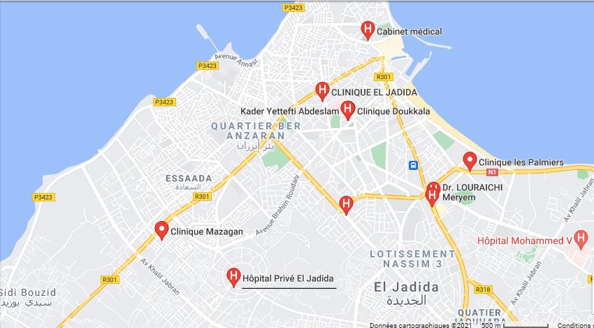 Akdital  l'hôpital privé d'El Jadida Sans1201