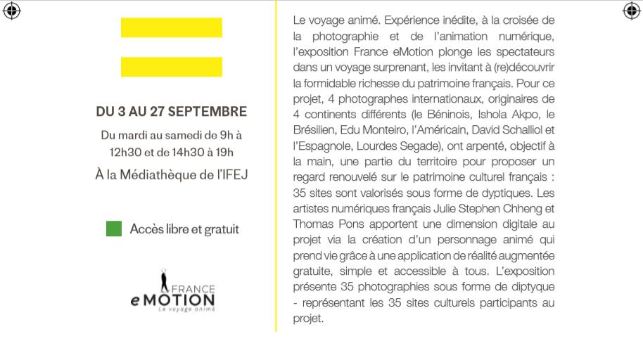 03/09 au 27/09 - Exposition France eMotion Sans_109