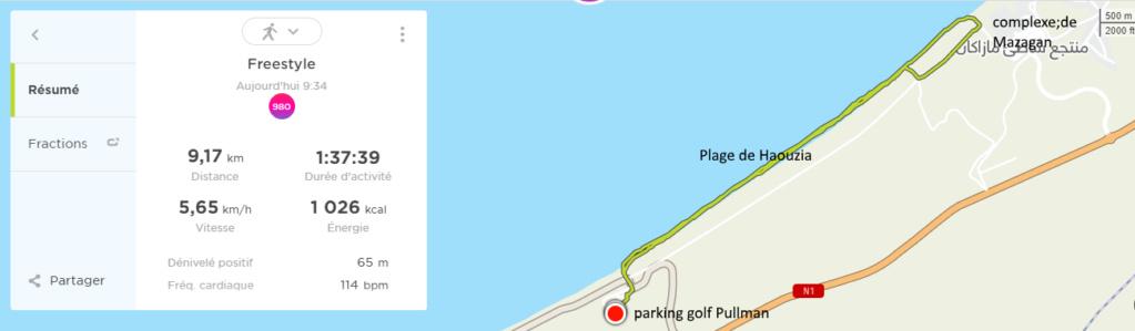 19/01 - marche sportive golf Pullman/complexe de Mazagan & retour Sans_t21