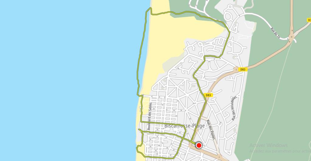 26/06 - marche sportive :  Biscarrosse-plage : le réchauffement climatique Sans_t56