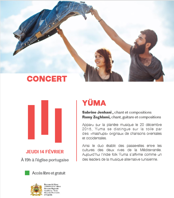 "14/02 - Concert :  ""Yuma""  Eglise portugaise  19 heures Yuma10"