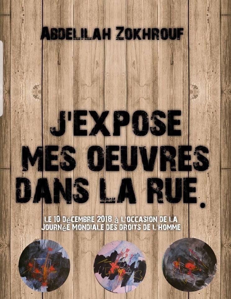 10/12 - Abdellilaah Zohkrouf fête la journée des droits de l'Homme Zokhro10