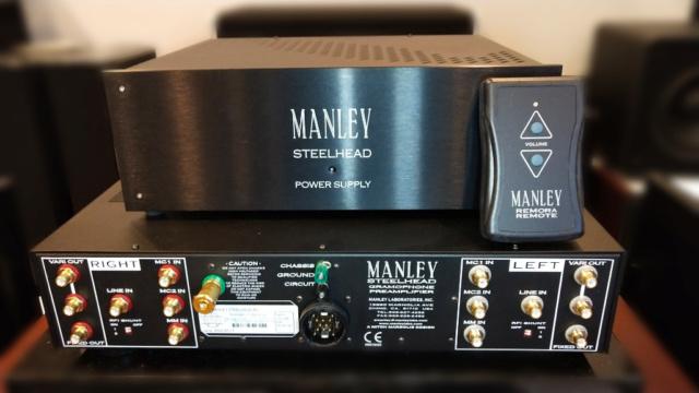 Manley Steelhead RC - Phono Tube Pre-Amp (Sold) 15591913
