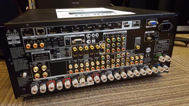 Onkyo TX-NR809 7.2 AV Receiver (Sold) 20180411