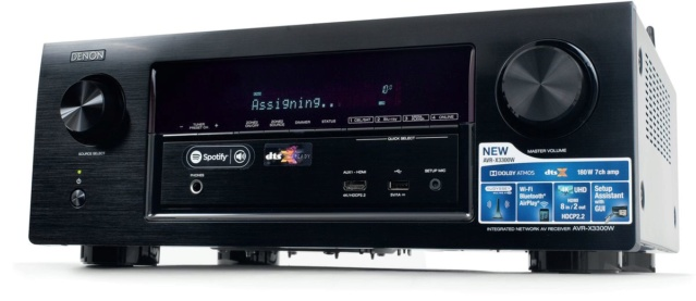 Denon -AVR-X3300 7.2 Dolby Atmos AV Receiver (Display Unit) 44531-11