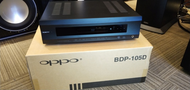 Oppo - BDP 105D BluRay Player ( Used ) Img_2027