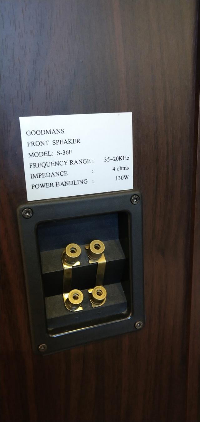 Goodmans - S-36F - Floorstand Speaker ( Sold ) Img_2032
