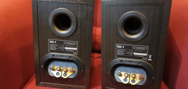 Mission MX-1 Bookshelf Speaker (Used) Img_2036