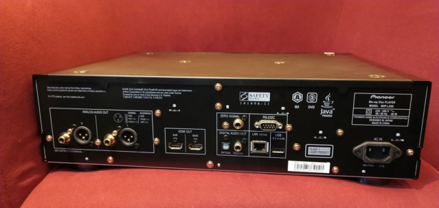 Pioneer - BDP-LX88 - BluRay Player (Sold) Img_2122