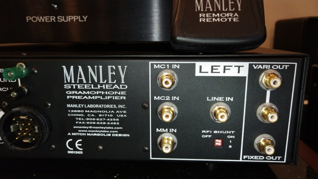 Manley - Steelhead RC - Phono Stage ( Sold ) Img_2222
