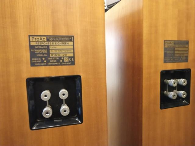 ProAc - Responce D18 - Floorstand Speaker (Sold) Img_2241