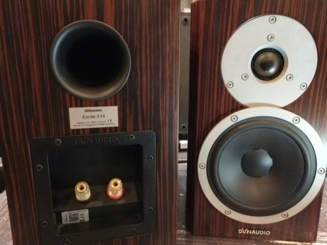 Dynaudio - Excite X14 - Rosewood - Bookshelf Speaker (Sold) Img_2259