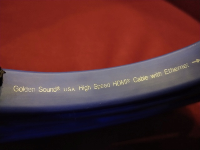 Golden Sound - HD-V1000 - HDMI Cable - 10M - Used Img_2282