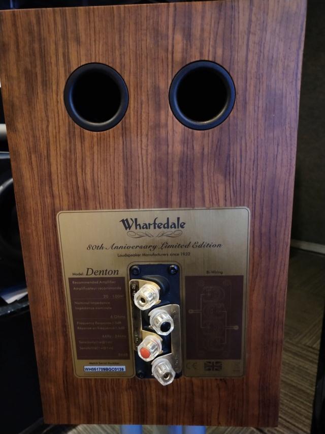 Wharfedale - Denton 80th Anniversary - Bookshelf Speaker (Used) Img_2284