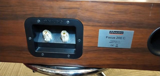 Dynaudio - Focus 200C - Center Speaker (Sold) Img_2294