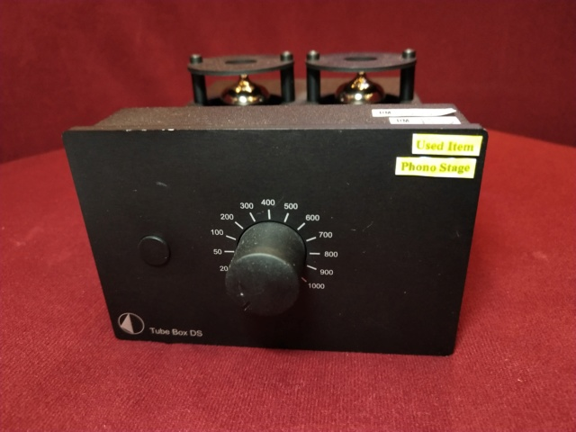 Pro-Ject - Tube Box DS - MM/MC Phono Stage (Used) Img_2332