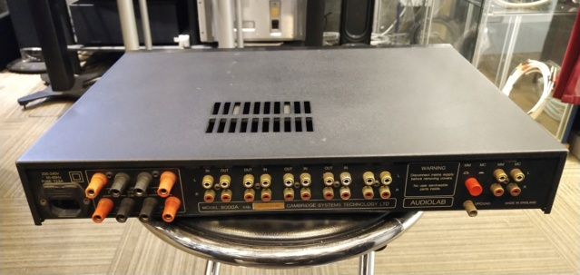 Audiolab - 8000A - Integrated Amp (Sold) Img_2342