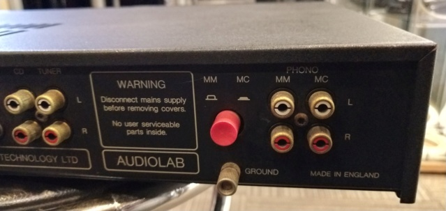Audiolab - 8000A - Integrated Amp (Sold) Img_2343