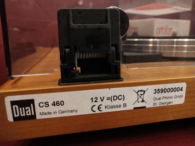 DUAL - CS-460 Wood - Automatic Turntable (Used) Img_2356