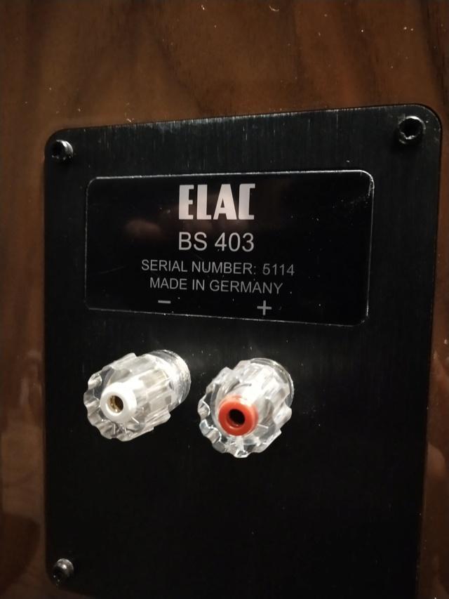 ELAC - BS403 - Bookshelf Speaker (USED) Img_2394