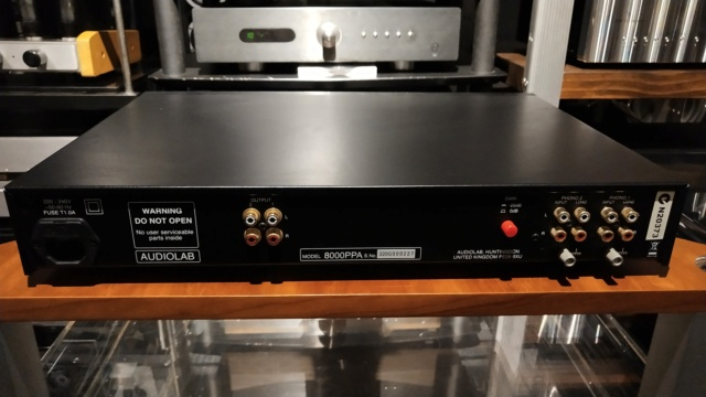 Audiolab - 8000PPA - MM/MC Phono Stage . (Used) Img_2402