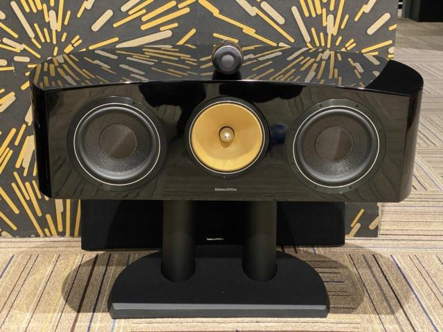 Bowers & Wilkins - HTM2 Diamond D2 - Center Speaker (Used)  Mmexpo19
