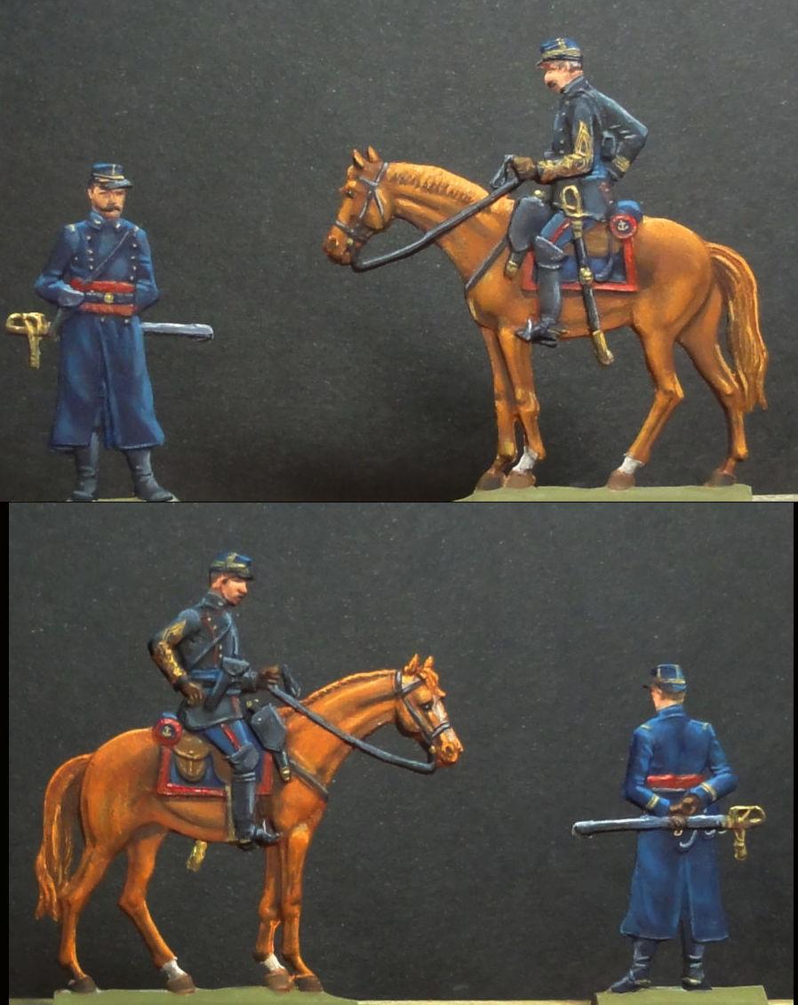 Infanterie de Marine Bazeilles 1870 figurines plates 30mm Bazeil16