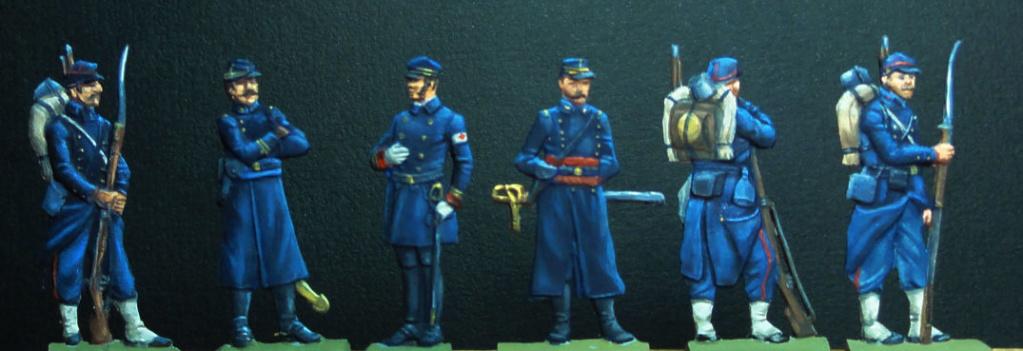 Infanterie de Marine Bazeilles 1870 figurines plates 30mm Dsc00235