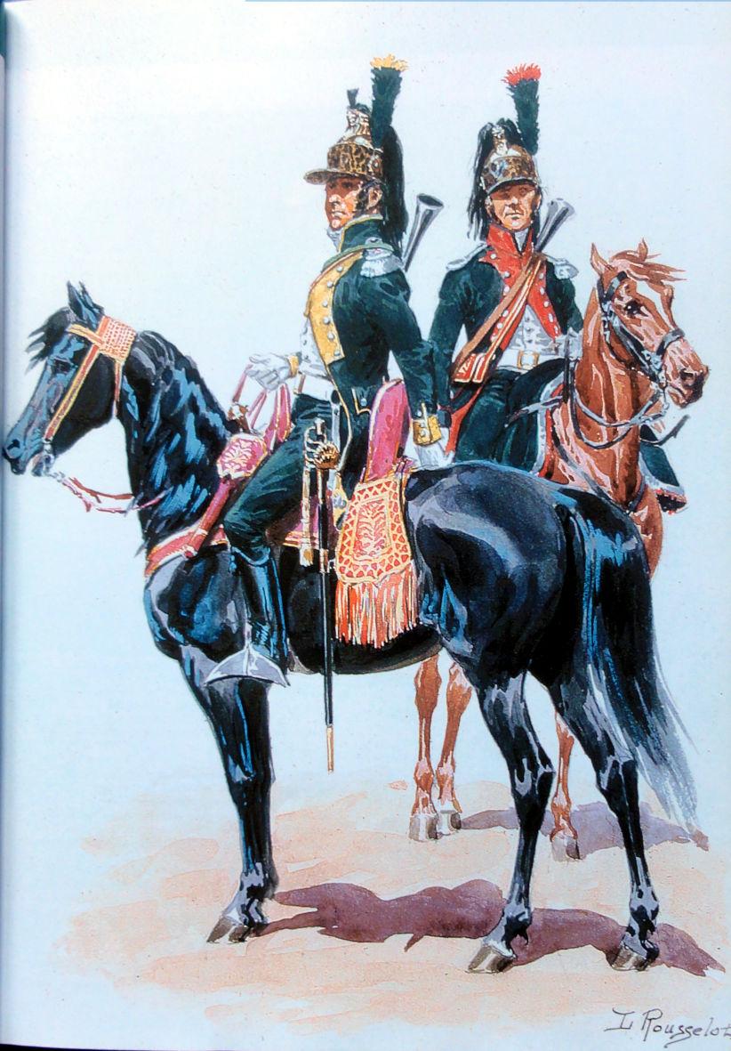 Sous-Lieutenant du 20ème Dragons Égypte 1800 - Michael Roberts - 120 mm Dsc00310