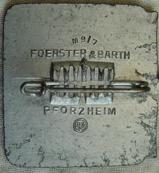Badge allemand 12152011