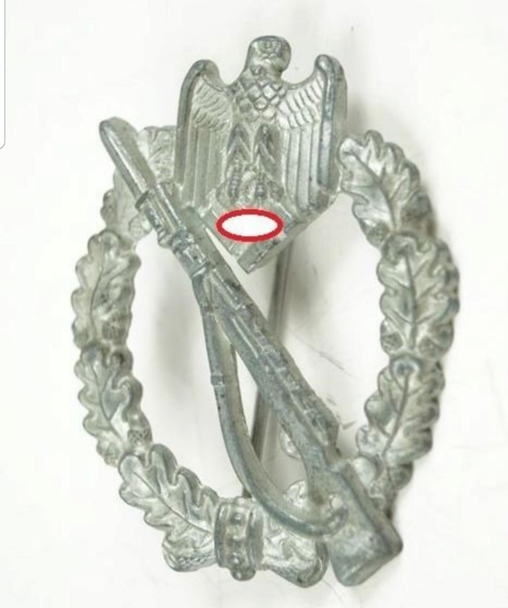 Badge infanterie Sturmabzeichen n4 20190815