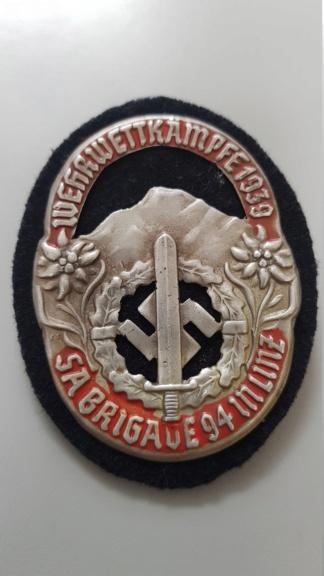 Badge allemand à identifier 20190921