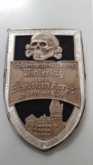 Badge allemand à identifier 20190922