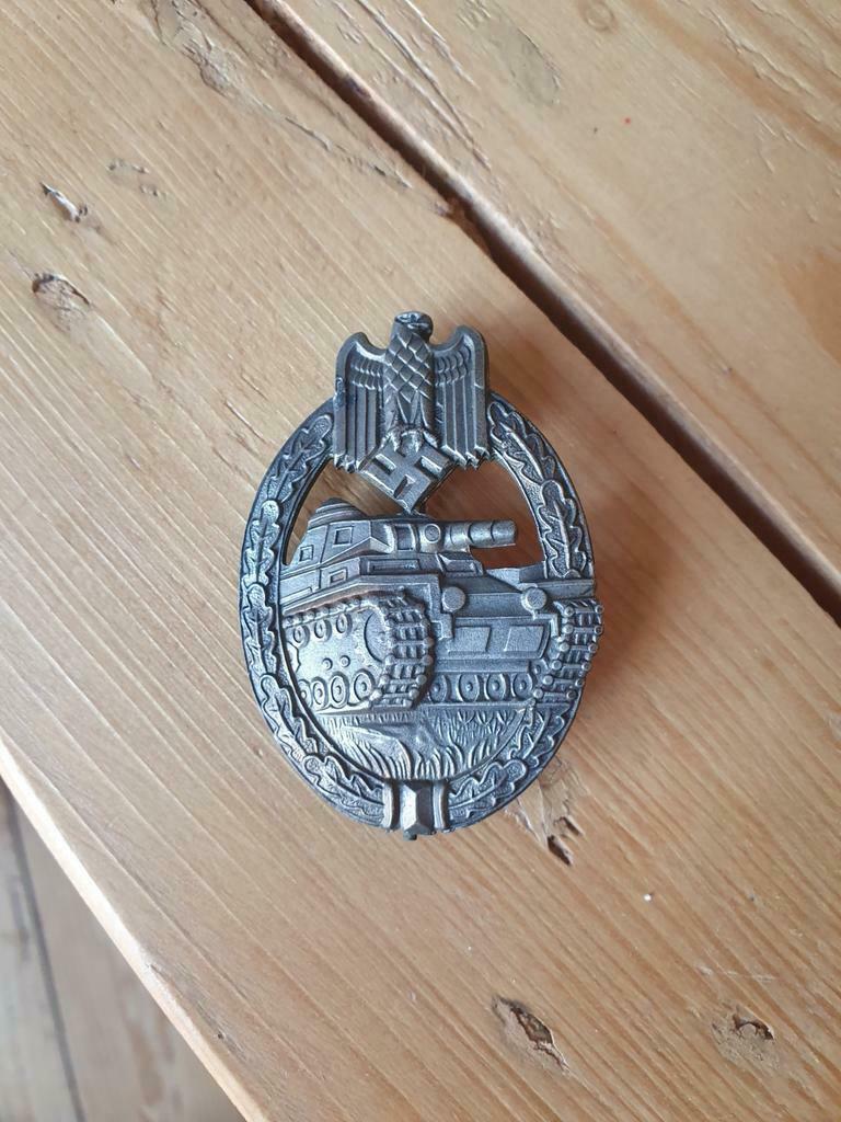 Authentification badge d'assaut Panzer _8620
