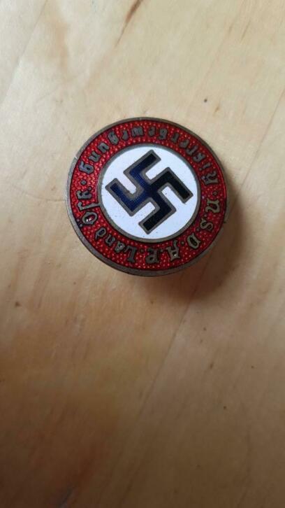 Badge NSDAP pour authentification et prix Sans-t21