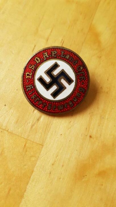 Badge NSDAP pour authentification et prix Sans-t23