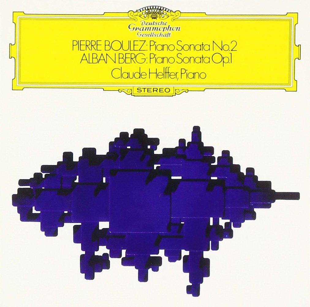 Boulez - Sonates pour Piano Boulez10