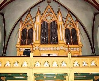 Mendelssohn, Schumann, Brahms et l'orgue romantique allemand Dramme10